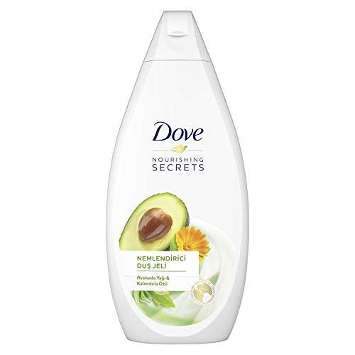 Dove Aquakat-Öl und Extrakt Caléndula Duschgel 500 ml - [4er-Pack]