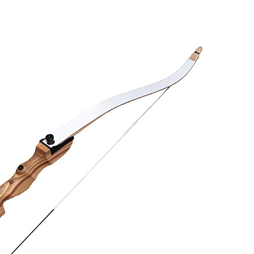 """Southland Archery Supply SAS Spirit Take Down Recurve Bow Limb Only for 62"""" or 66"""" Riser (White, 20 lbs.)"""
