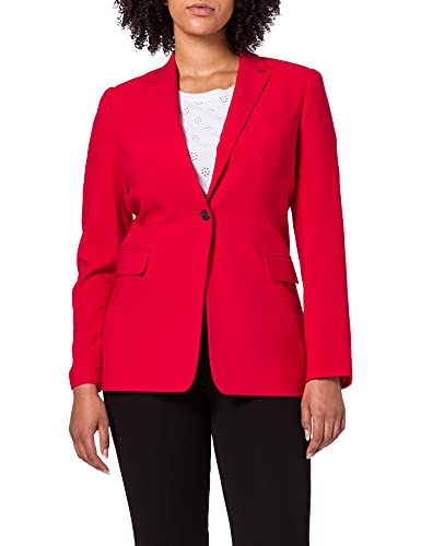 Tommy Hilfiger Damen CORE Suiting SB Blazer, Rot ( Primary Red ) , 36