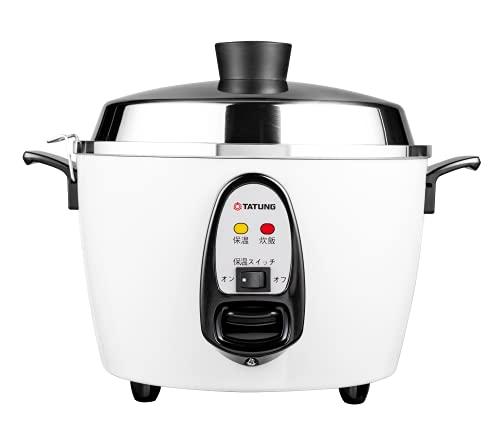 【TATUNG 大同電鍋】大同電気釜(大同電鍋) 炊飯器 10合 ー白ー Lサイズ 【正規品】