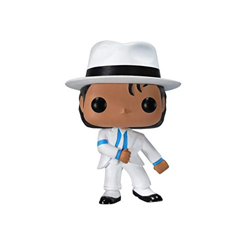 POP Michael Jackson Weißer Anzug Mini Q Version 3.9inches Sammlung Aktion PVC Figure EP PVC