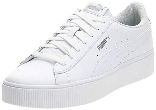 PUMA Damen Vikky Stacked L Zapatillas, Weiß White White, 42 EU