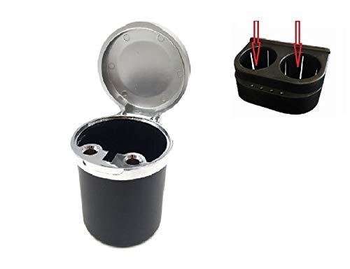 LL-Golf Schließbarer Auto/PKW Getränkehalter Aschenbecher/Outdoor Camping Ascher