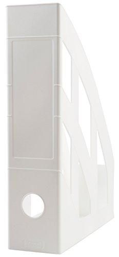 Idena 300835 - Stehsammler für DIN A4, aus Kunststoff, weiß, 1 Stück