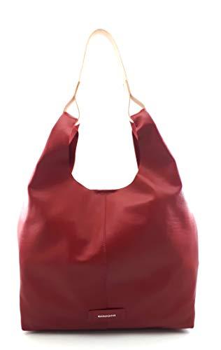 DIMONI Bolso de hombro en piel Mujer Made in Spain 34 X 31 X 12 CM