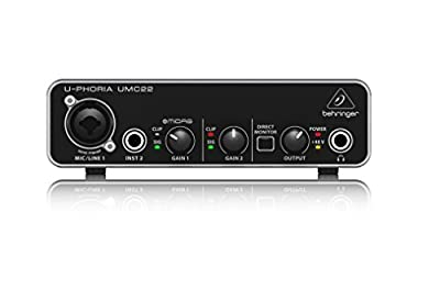 BEHRINGER audio interface (UMC22) from Behringer