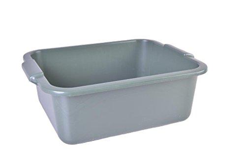 metakreon Schüssel 11 L Recycling mit Griff eckig Allzweckschüssel Plastik Spülschüssel Plastikschüssel Fußwanne Wanne - farblich Sortiert - Farbverlauf möglich