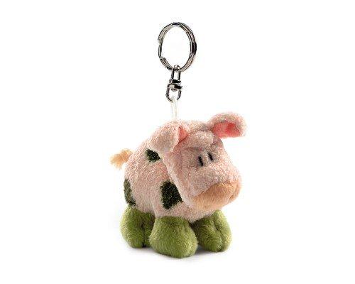 Nici Landlords, Schlüsselanhänger, Schwein Hampy Porkland, stehend, 10cm