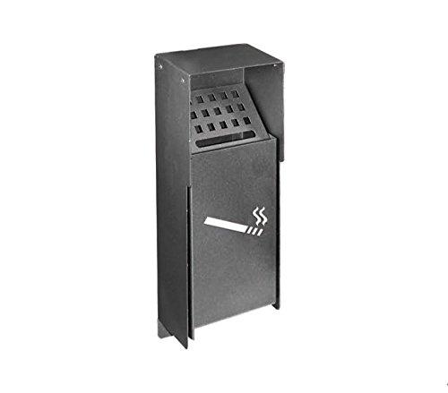 Mediawave Store Spegni Sigarette da Parete ARTIGIAN Ferro Art. 810.A 14X8X34 cm posacenere