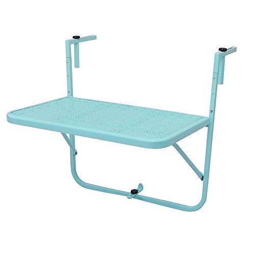 Klaptafel verstelbaar hangende tafel/in hoogte verstelbaar/balkon hangende tafel/outdoor ijzer Art 60 * 40cm kan worden gedraaid (kleur: C) E
