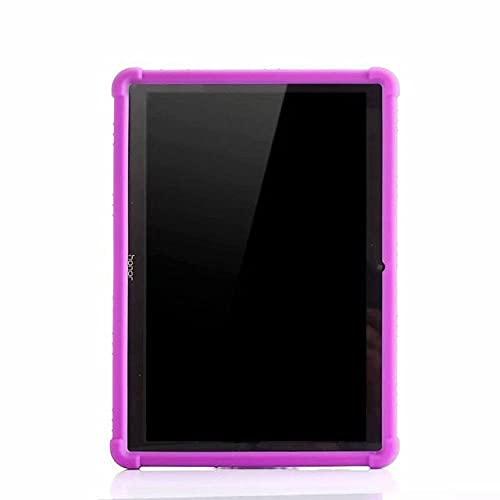 LIUCHEN Funda de tabletaFunda de Silicona Suave para Huawei MediaPad T3 10 AGS-L09 AGS-W09 9.6 & quot; Funda de Soporte para Tablet PC para Huawei MediaPad T3 10 Funda, Morado