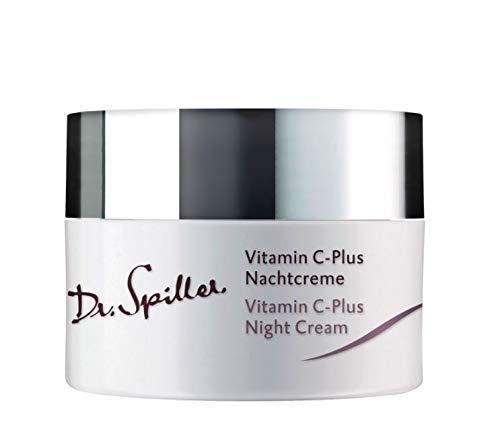 Dr. Spiller - Vitamin C-Plus Nachtcreme | Nachtcreme in W/O-Emulsion | Lipidgehalt 24% | Regeneration über Nacht | Rosig zarte Haut durch Abschilferung kleiner Hautschüppchen | Für eine gesunde Haut