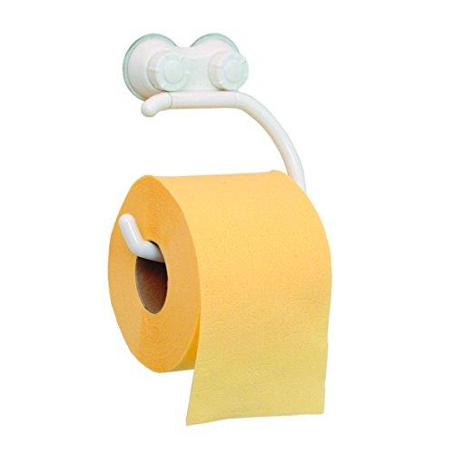 Ribelli WC-Papierhalter Kunststoff weiß Klopapierhalter Klopapier Toilettenpapierhalter