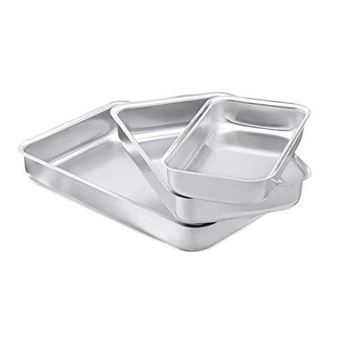 Conjunto de Assadeiras 3 Peças em alumínio Panelux