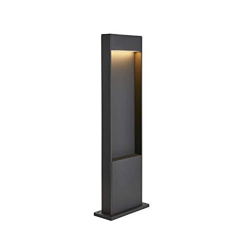 SLV LED Stehleuchte FLATT 65   Design Außen-Standleuchte, Außenbeleuchtung   Outdoor LED Wege-Leuchte, Pollerleuchte, Garten-Lampe, Gartenbeleuchtung   CCT Switch (3000K/4000K), 400 lm, 9,7W