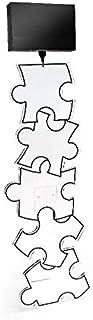 Acrila ~ Lampadaire acrylique Puzzle abat-jour noir GM
