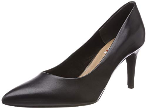 s.Oliver Damen 5-5-22411-22 007 Pumps, Black Uni, 39 EU