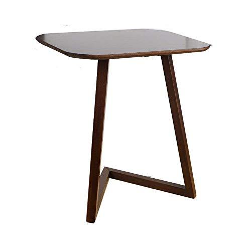 N/Z Equipo para el hogar Mesa de sofá Bandeja de televisión Soporte extraíble en la Sala de Estar Muebles de Oficina Trabajo de Escritura Mesa de té de café (Color: Marrón Tamaño: 45X60X60CM)