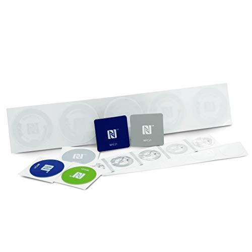 NFC Starter Kit, der perfekte Einstieg in die NFC Welt, kompatibel mit Allen NFC Smartphones, NFC Starter Kit Smart Home