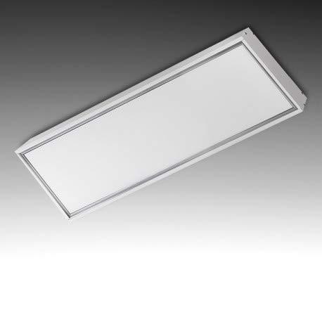 Montage en saillie pour dalle 30x120cm Blanc Cadre Blanc Pour Pavé 300x1200 Accesoires Installation Panneaux led 30x120Cm Blanc