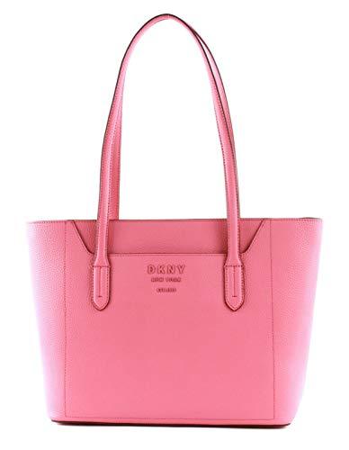 DKNY Handtasche Noho in genarbtem Leder Rosa