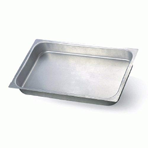 Pentole Agnelli ALMA18240 Gastronorm Teglia in Lega Alluminio 3003, Argento, 4 cm