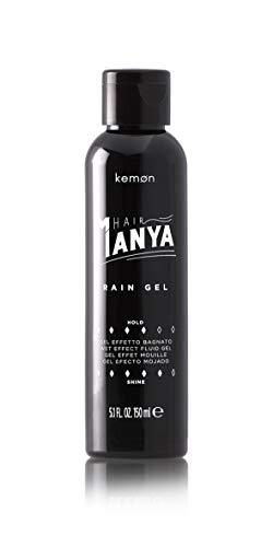 Gomina Gel Fijador Pelo Cabello Hombre Extra Fuerte Rain Gel Efecto Mojado 150 mililiter - Hair Manya - Kemon