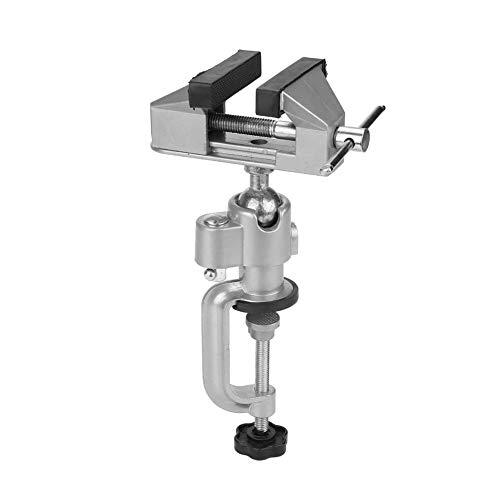 Vise - Tornillo giratorio para banco de 360 grados de aleación de aluminio para mesa