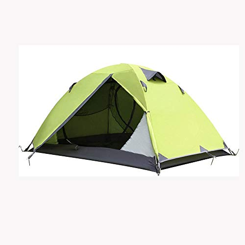 TWDYC Backpacking Tent 2-Man Lightweight Tent Waterproof Double Layer Dome Tent Outdoor Camping Hiking Tent (Color : D)