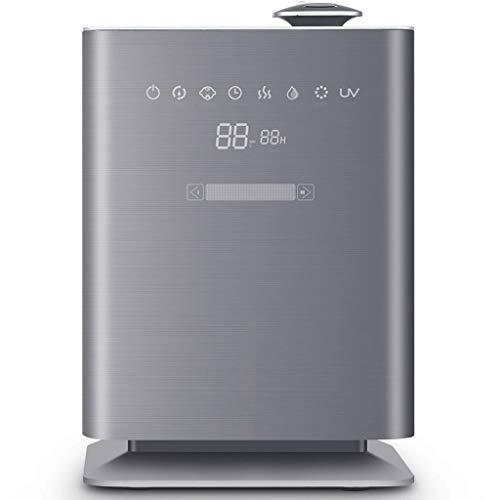 TTEWS Luchtbevochtiger – 5,5 l grote capaciteit intelligent constant warme mist luchtbevochtiging plasma reiniging Silent Air luchtbevochtiger