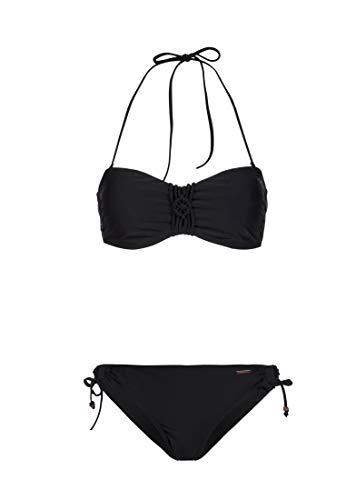 Protest SOLEDO 19 Damen Bandeau-Bikini True Black XL/42