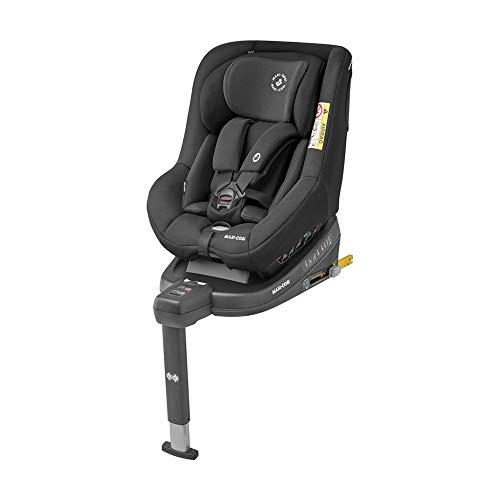 Maxi-Cosi Beryl Seggiolino Auto Isofix, 0-25 Kg, per Bambini fino a 7 Anni, Reclinabile 5 Posizioni, con Riduttore per Neonati, Nero