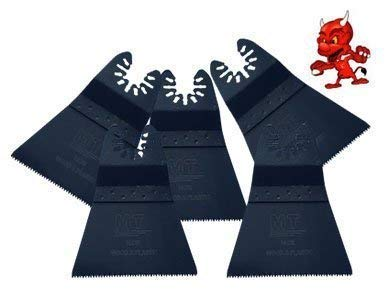 5 Stück 64 mm Japan Sägeblatt Sägeblätter Zubehör Aufsätze für Fein Multimaster FMM350Q