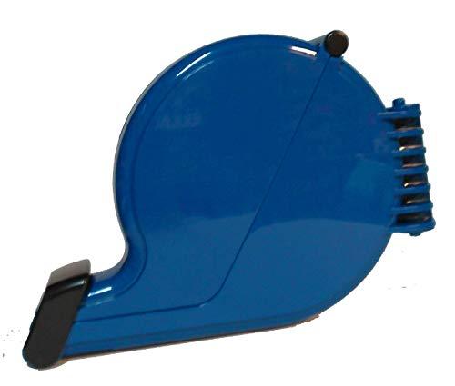 Dispenser ticket eliminacode chiocciola blu dispenser etichette numerate coda rondine