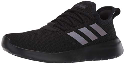 adidas Men's Lite Racer RBN Sneaker, Black/Black/Grey, 9.5 M US