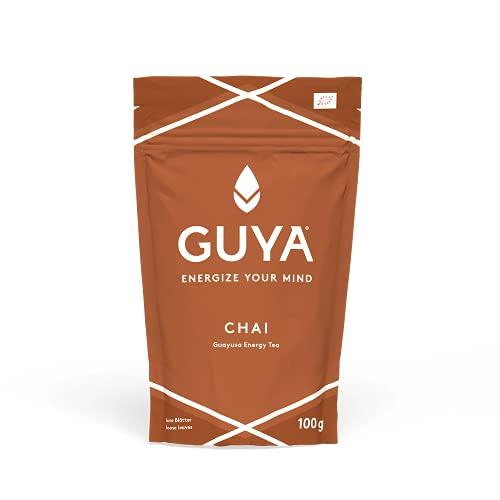 Bio Guayusa Tee lose (Chai) | 100g für 40 Tassen | Kaffee Ersatz | Energize Your Mind | Mit Zimt, Kardamom, Süßholz & Nelken | Perfekt mit Alternativ-Milch