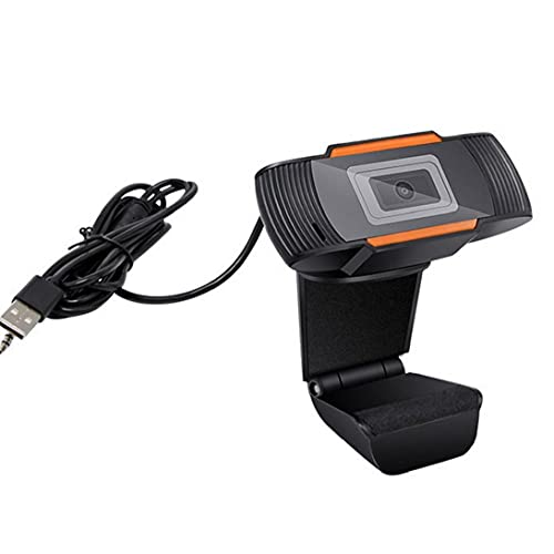 Tuimiyisou 720P Full HD Webcam Webcam Micrófono Incorporado de Escritorio del Ordenador portátil de Escritorio giratoria de Ordenador USB Webcam