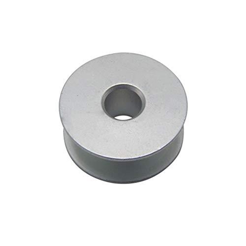 HAIK Bobina Plana de Aluminio Máquina de Coser eléctrica del Cabezal de Costura Plana de Accesorios de Aluminio de la Bobina eléctrica Máquina de Coser Máquina de Coser (Color : 1)