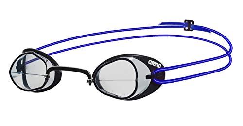 arena Unisex Wettkampf Schweden Schwimmbrille Swedix (Ultraleicht, UV-Schutz, Anti-Fog Beschichtung), Clear-Blue (17), One Size