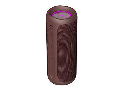 Vieta Pro Goody 2 Lautsprecher, mit Bluetooth 5.0, True Wireless, Mikrofon, Radio FM, 12 St&en Akkulaufzeit, IPX7-Wasserdichtigkeit, AUX-Eingang, Direktknopf zum virtuellen Assistenten; in Bordeaux.