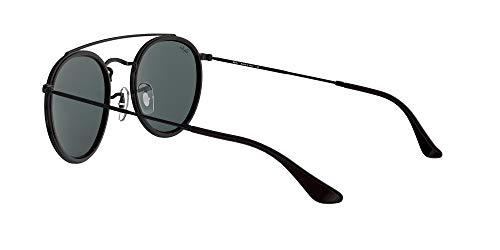 Fashion Shopping Ray-Ban Rb3647n Double Bridge Round Sunglasses