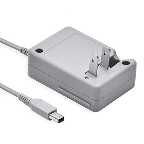3DS Charger, VOYEE 3DS Charger Compatible with Nintendo 3DS/ DSi/DSi XL/ 2DS/ 2DS XL/New 3DS XL 100-240V Wall Plug Adapter