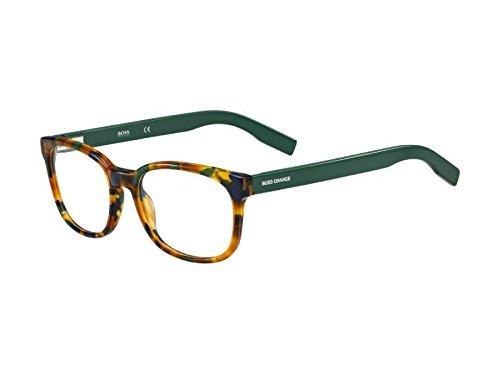 BOSS Orange BO 0215 7EE 52 Occhiali da Sole, Verde (Hvn Sptt Grn), Uomo