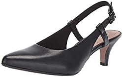 Clarks Linvale Loop pumps dressy travel shoes