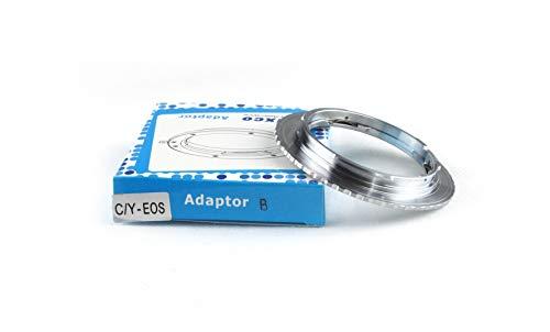 Pixco Lens Adapter voor ACCURATE Contax YAshica C/Y Lens naar Canon EOS Adapter 4000D 2000D 6D II 200D 77D 5D IV 1300D 80D 1DX II 5DS R 760D 750D 7DII 1D 6D 7D 5DIII 5DII
