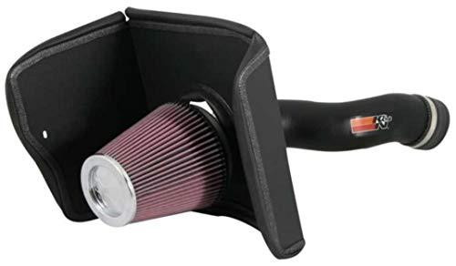 K&N Cold Air Intake Kit: High Performance, Increase Horsepower