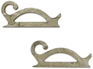 Delphi Studio Scroll Hooks - 4 Pieces