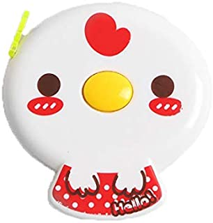 60 inches Tape Measure for Body Measurements Cute Red Chick Shape Retractable Dual Sided Inch and Centimeter for Sewing Ta...