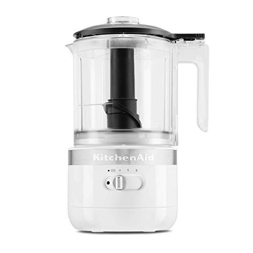KitchenAid KFCB519WH Akku-Zerhacker, 5 Tassen, Weiß