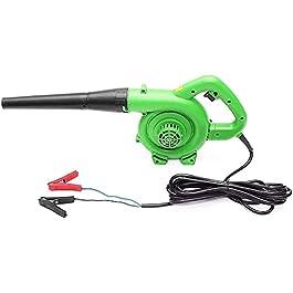 PGKCCNT Souffleur électrique portable électrique Souffleur d'air soufflant machine à poussière Feuille d'air 1200W…
